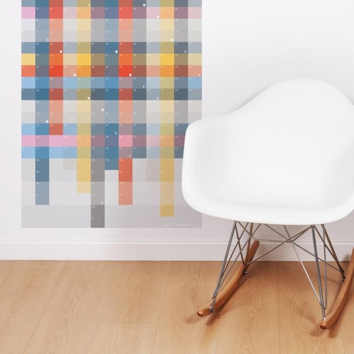 Calendários que são obras de arte, arquitetura e design!